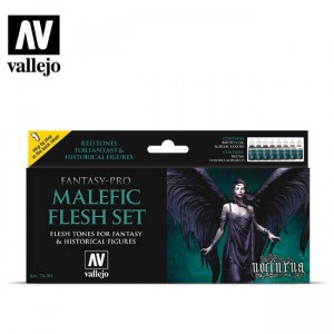 Malefic Flesh Set Vallejo...