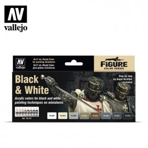 Black & White Vallejo 70151