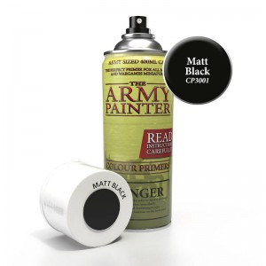 Matt Black Spray 400ml Army...