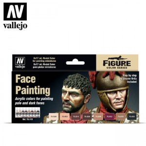 Face Painting Set Vallejo...