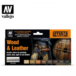 Wood & Leather Set Vallejo...
