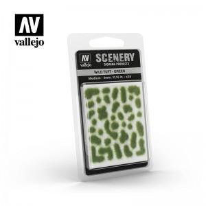 Wild Tuft Green - 4mm