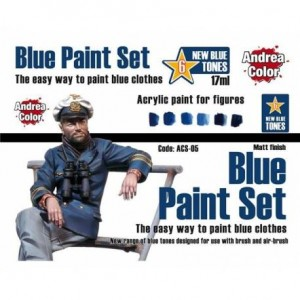 Blue Paint Set Andrea Color...