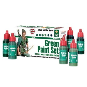 Green Paint Set Andrea...