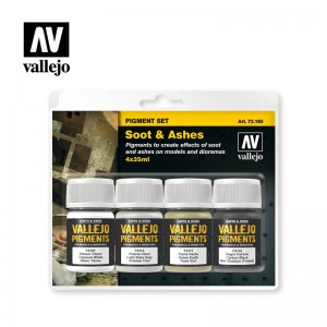 Soot & Ashes Pigment Set...