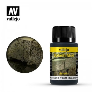 Black Splash Mud Vallejo 73806