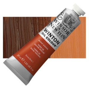 Oil Color  Winton Burnt Sienna