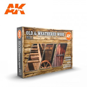 Old & Weathered Wood Color...
