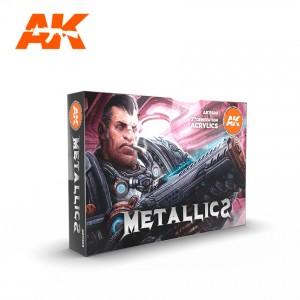 Metallics Colors Set AK...