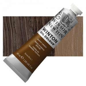Oil Color  Winton Burnt  Umber