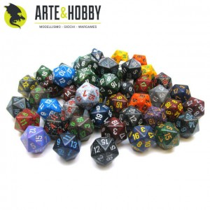 Dice Chessex D20 Random Color