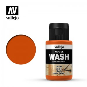 Rust Vallejo Model Wash 35ml