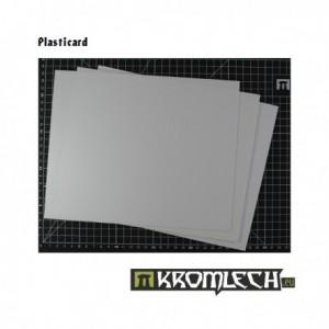 Plasticard 0.25mm 3 Sheets...