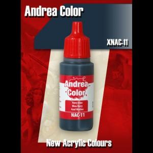 Andrea Color Navy Blue XNAC-11