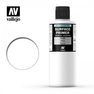 Primer White  Vallejo 200ml...