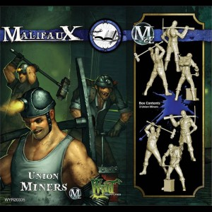 Union Miners with new M3 Cards