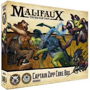 Captain Zipp Core Box